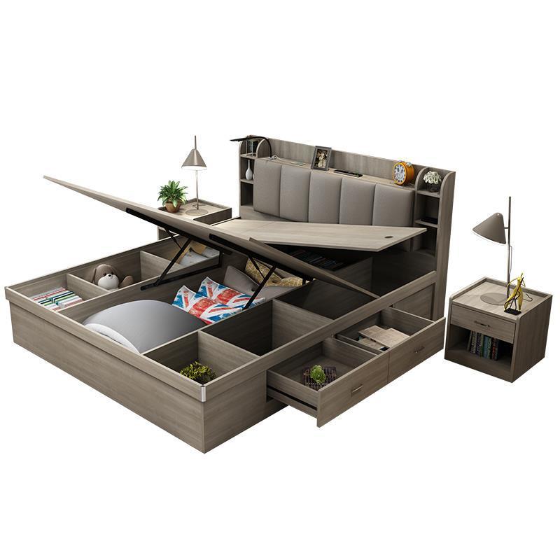 Bett Frame Lit Enfant Home Infantil Kids Modern Letto A Castello Mobili Yatak Single bed ...