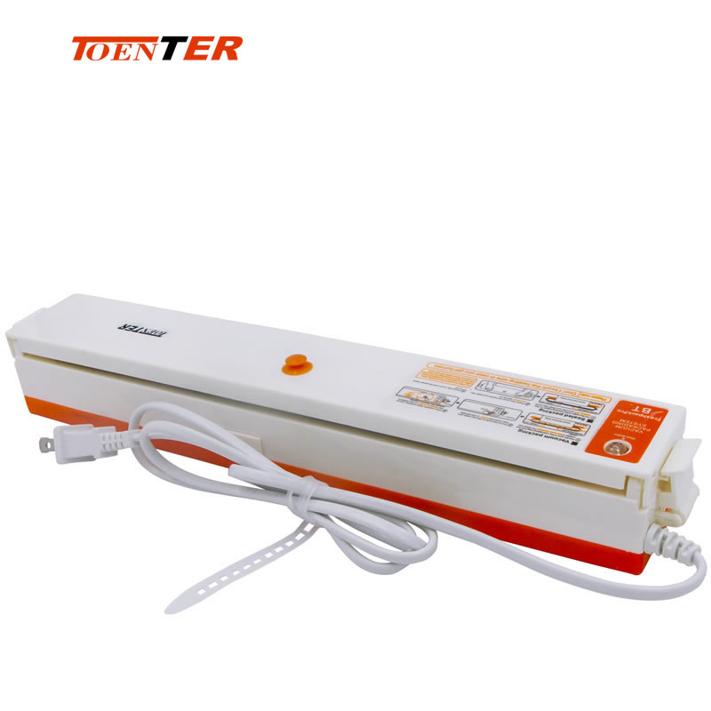 Mini Automatic Food Vacuum Packing Machine With Plastic Bags