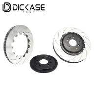 Dicase Brake disc 410*36mm fit for VW golf 4 for CP8520 red brake calipers for 22 RIM wheels