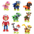 2019 New Paw Patrol Toys Figures Air Rescue Chase marshall rocky rubble skye zuma Pup Pack & Badge kids Birthday toy gift