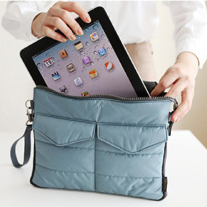 Aliexpress.com   Buy Travel Computer Clutch Tote Organizer Bags Pouch Soft  Storage Case Cover for iPad 1 2 3 4 tablet bag storage bag in bag handbag  from ... d4c6d80918c1