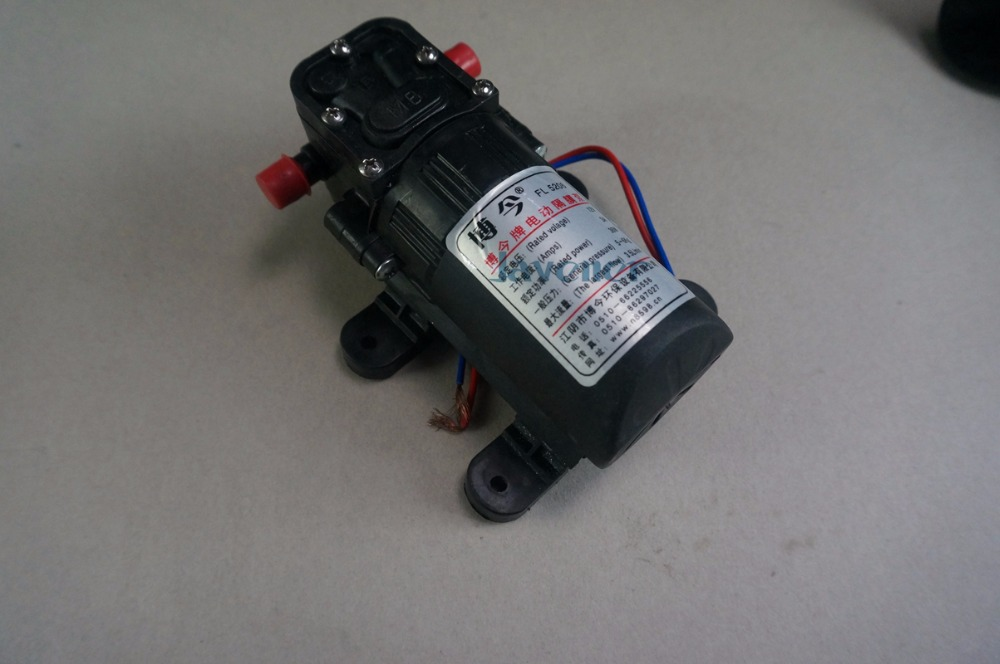12V DC Electric Mini Diaphragm pump self-priming booster pumnp for garden cooling car washer 3A 36W 210L/H T25 constant delight 5 magic oils спрей для придания объема 5 масел 200 мл