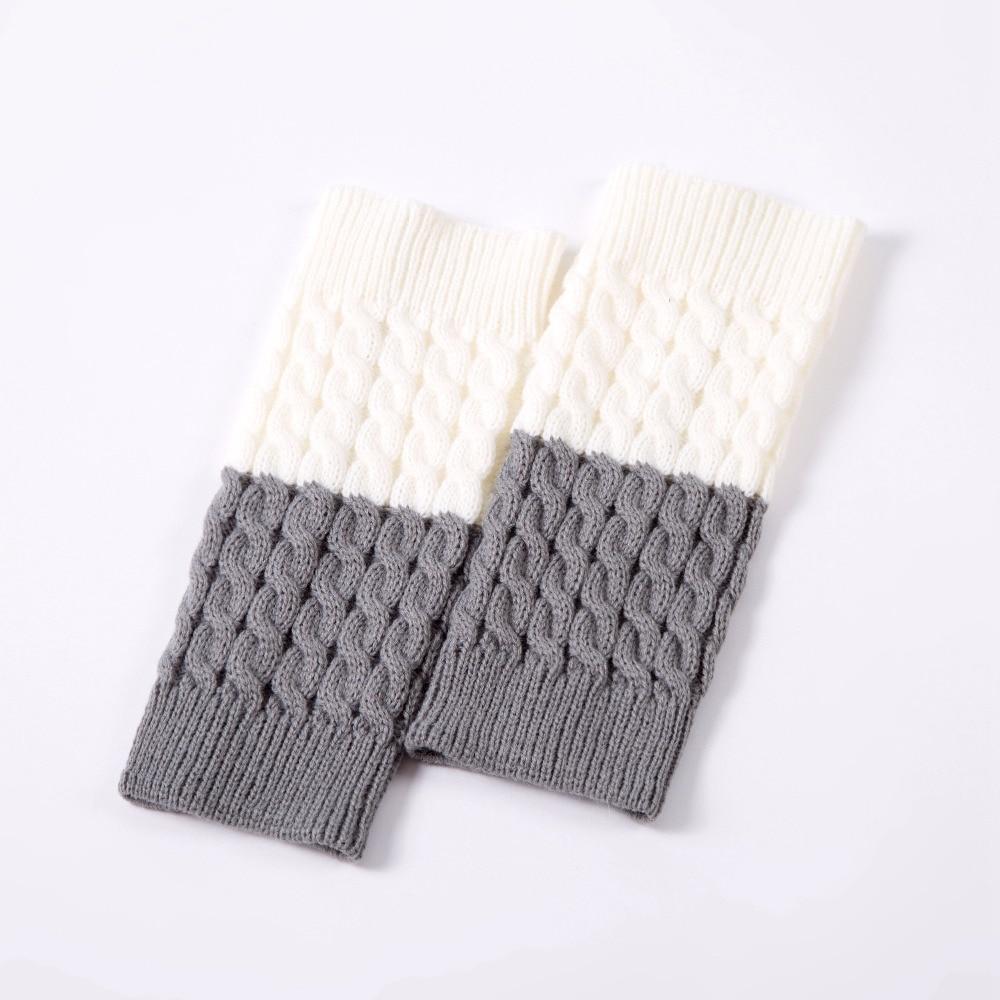 Puños de Arranque de la Mujer Crochet Knit Sexybody Topper Doble ...