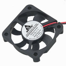 5Pcs Gdstime 50x50x10mm 12V DC Cooling Brushless Dual Ball Bearing 2Pin 5010 5cm 50mm Cooler Case Fan