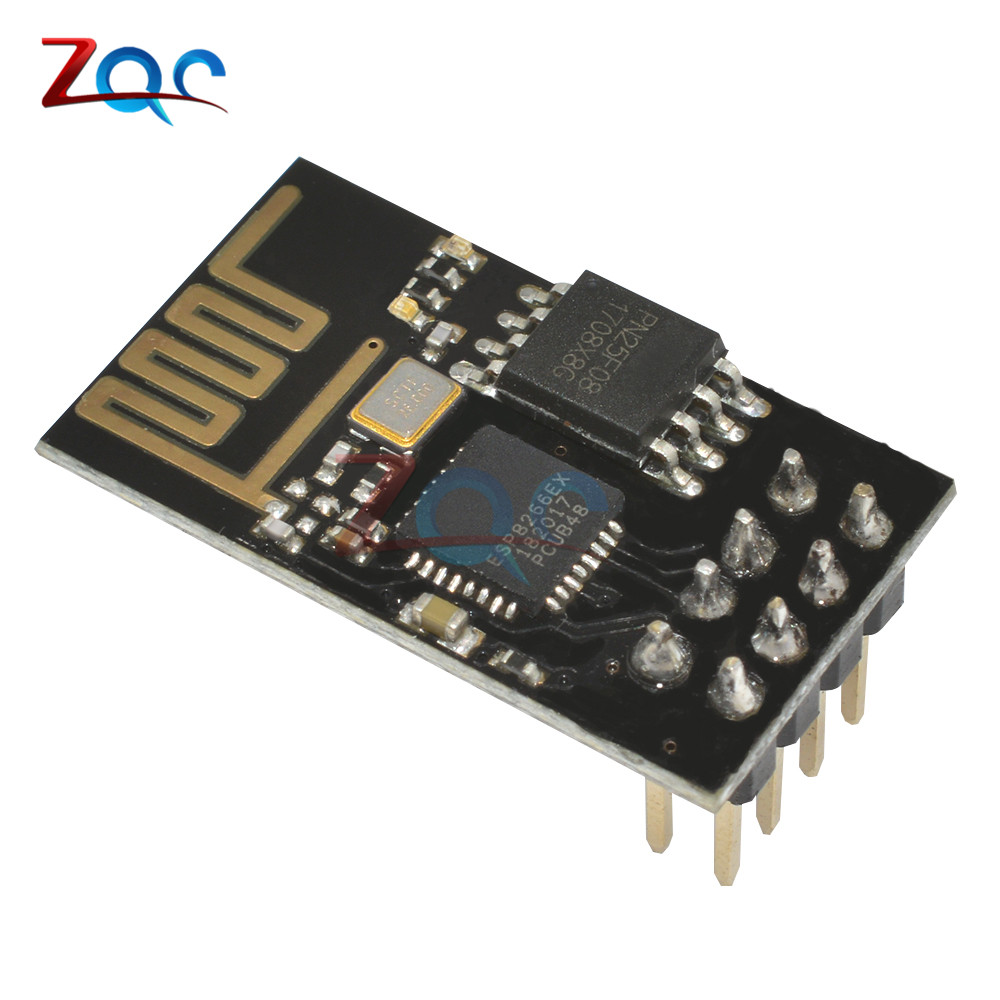 ESP8266 ESP-01 ESP01 Serial Wireless WIFI Module Transceiver Send Receive LWIP AP+STA for Arduino Raspberry pi 3 official doit mini ultra small size esp m2 from esp8285 serial wireless wifi transmission module fully compatible with esp8266