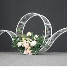 Свадебный реквизит tieyi t road guide свадебные декорации цветок композиция креативное кольцо с орнаментом сетки