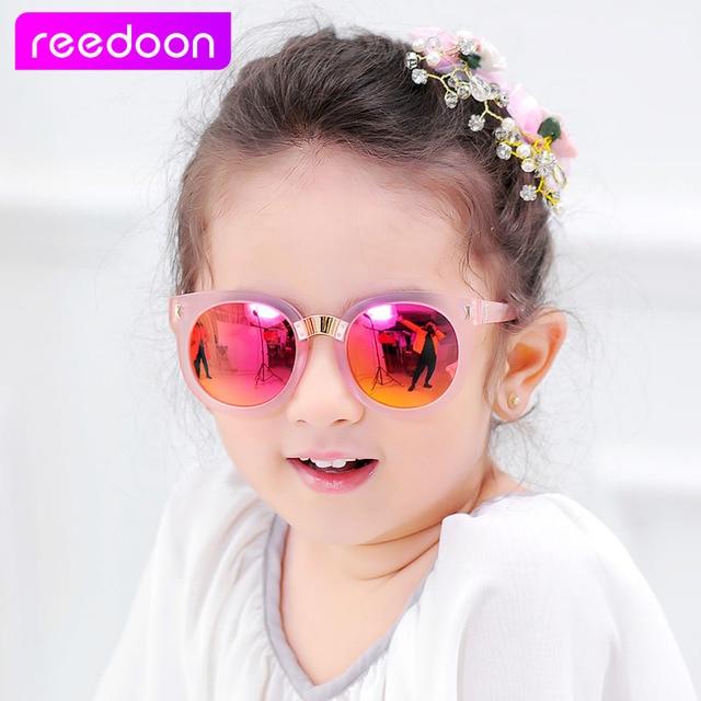 5add447bb 2016 جديد أزياء الأطفال الفتيان الفتيات الاطفال الطفل الطفل النظارات نظارات  uv400 مرآة نظارات سعر الجملة
