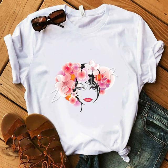 Lady White Vogue Shirt Pink...