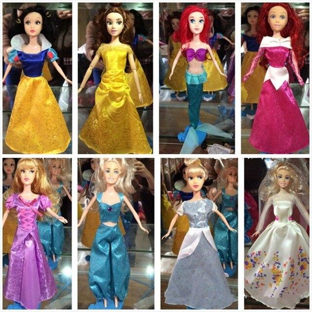 c9e142147440 NEW Noble Court Dresses For Barbies Snow White Princess Cinderella ...