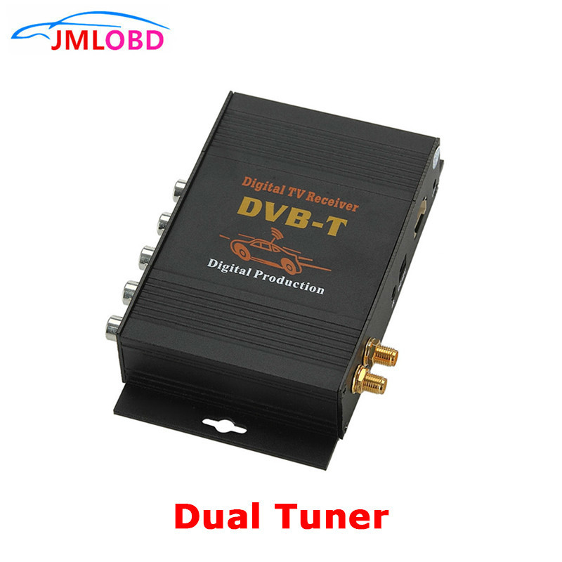2018 DVBT Dual tuner Digital <font><b>TV</b></font> Receiver externe box Mobile DVBT <font><b>TV</b></font>-Empfänger für Auto DVD digital <font><b>TV</b></font> tuner Mpeg4 image
