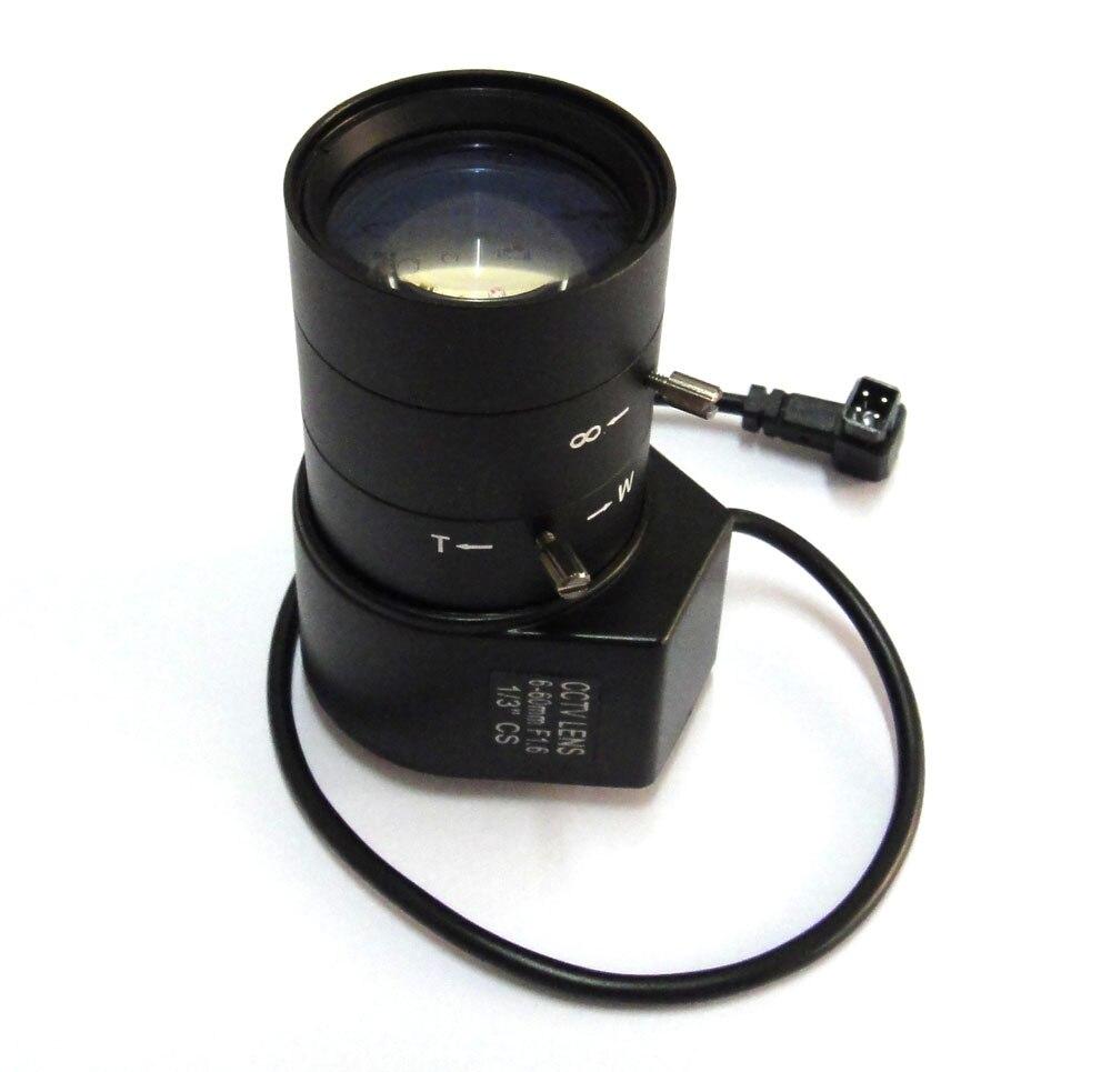 """1/3 """"CS IR 6-60mm CCTV lente apertura vari-focal Auto Iris para cámara de seguridad"""