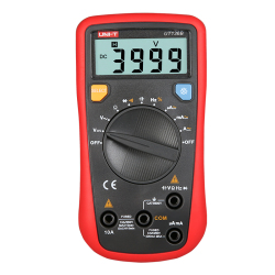 UNI-T UT136B 136A 136C Mini Handheld Digital Multimeter Auto Range AC/DC Voltage Current Resistance Capacitance Frequency Tester