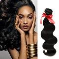 Evet brasileños Virgin Hair Body Wave extensión del pelo que teje 100 g/pcs 100% del pelo humano de la onda brasileña paquetes armadura del pelo