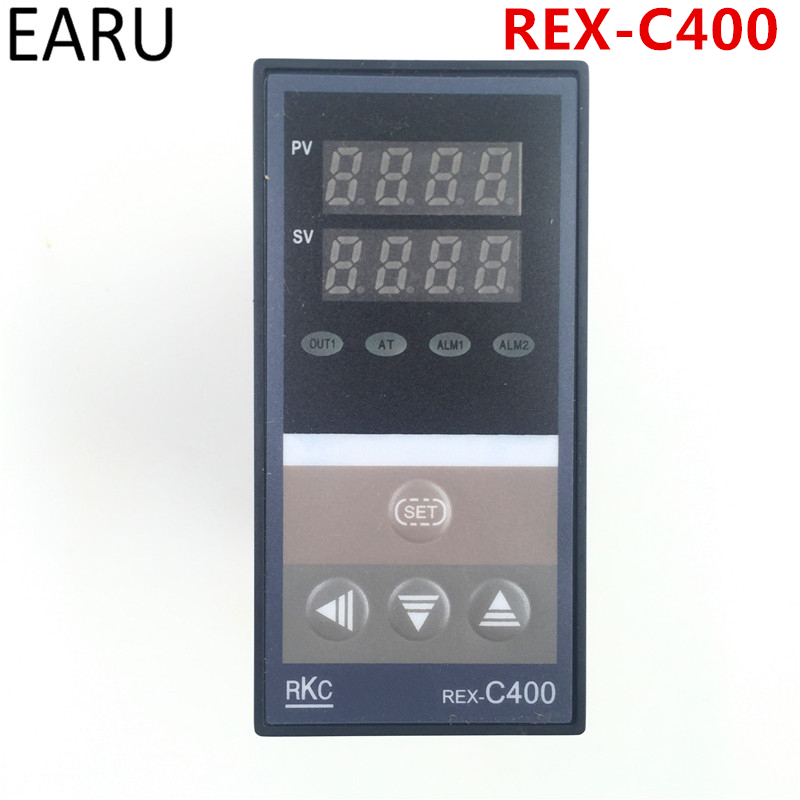 все цены на PID Digital Temperature Controller RKC REX-C400 Universal Input Relay SSR Output for Automatic Packing Machine Thermostat Hot онлайн