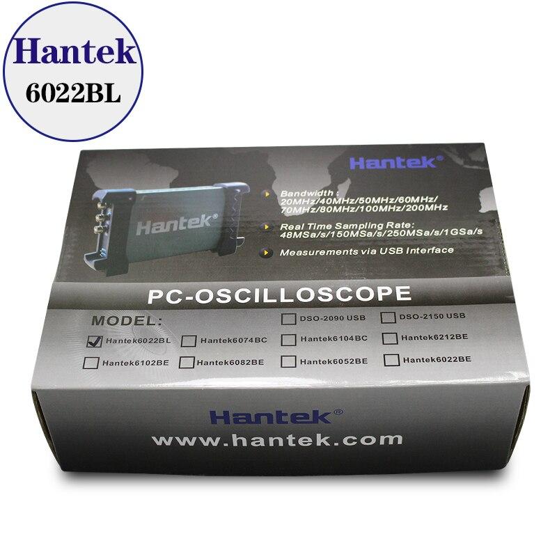 Image 4 - Hantek 6022BL PC USB Oscilloscope 2 Digital Channels 20MHz Bandwidth 48MSa/s Sample Rate 16 Channels Logic Analyzer free ship-in Oscilloscopes from Tools