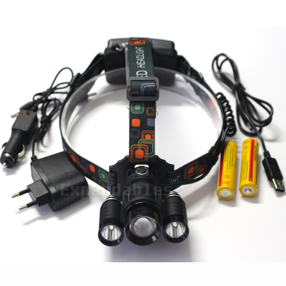 ᐊ2016 new 3T6 ᗔ Zoomable Zoomable Headlamp XML T6 Zoom ...