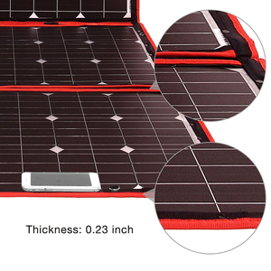Image 2 - 200w 18V Flexible Foldble Solar Panel Form Home Solar Panel Sets outdoor For camping/Boats/RV Solar Cell 12V Charge Solar panel