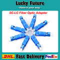 SC To LC Female Fiber Optic Adapter SC-LC Hybrid Optical Adaptor Free Shipping