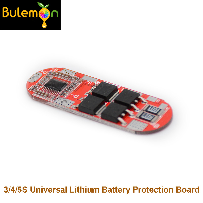 BMS 25A 3S 12.6V <font><b>4S</b></font> 16.8V 5S 21V <font><b>18650</b></font> Li-ion Lithium Battery Protection Circuit Charging Board Module PCM Polymer Lipo Cell PCB image