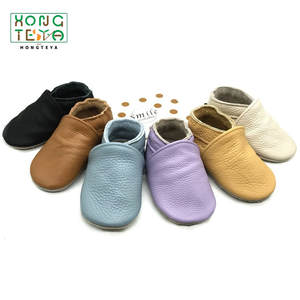 Toddler Shoes Prewalkers Baby Soft-Sole Girls Boys Genuine-Leather