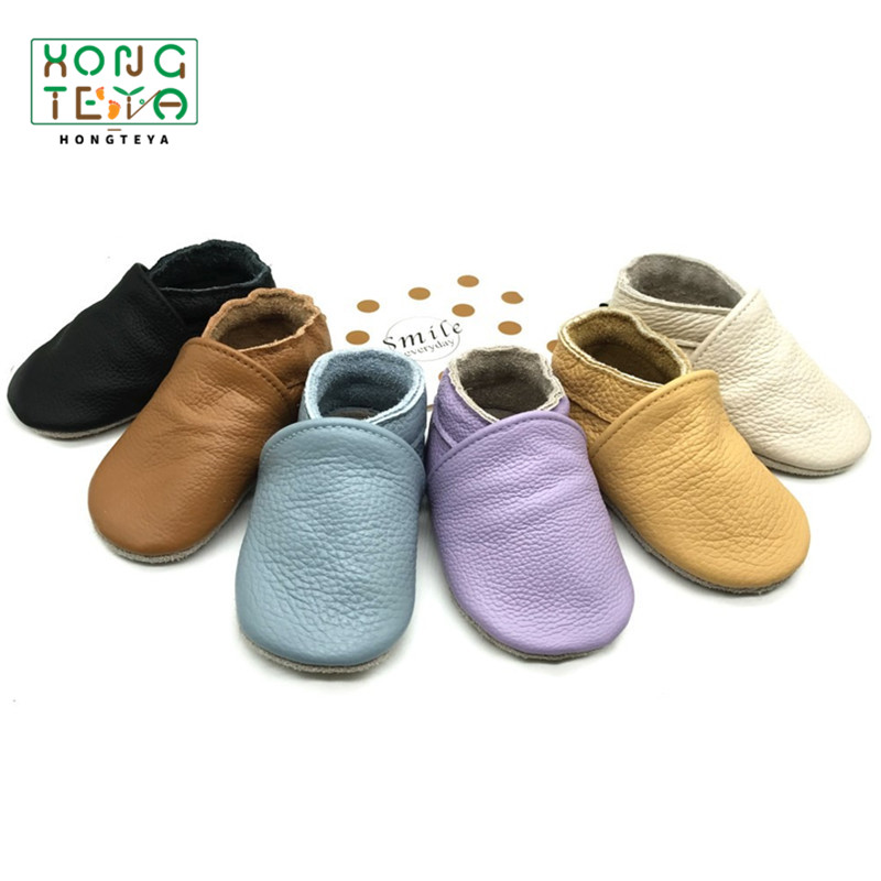 2020 Genuine Leather Baby Soft Sole Baby Moccasins Shoes Prewalkers Baby Toddler Shoes Boys Girls Baby Shoes First Walkers Shoes