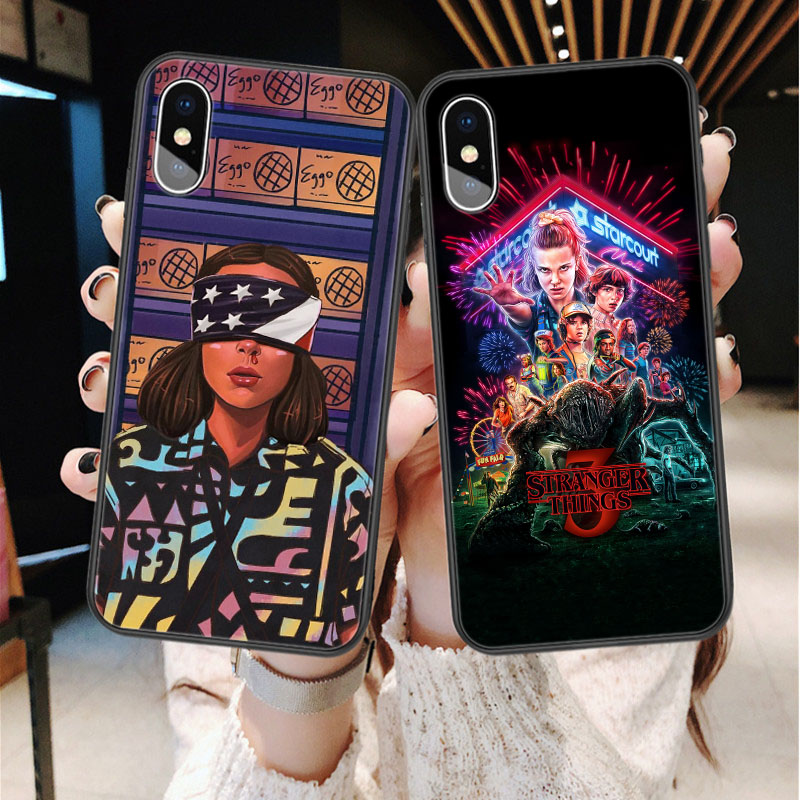 Stranger Things Season 3 Soft silicone TPU Phone Case For iphone 11 Pro Max 2019 X 5S 5 SE 6 6s Plus 7 7 Plus 8 8 plus XS Max XR(China)