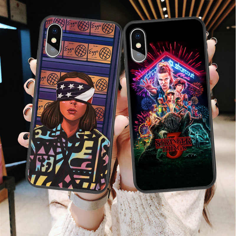 Stranger Things Season Soft silicone TPU Phone Case For iphone 12 mini 11 Pro Max SE X XS Max XR 6 6s 7 8 Plus Cover Funda Coque