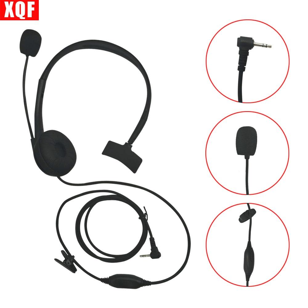 XQF Earpiece Headset w/ Boom Mic For for Motorola