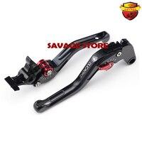 For KAWASAKI Z800 2013 2016 Z750 2007 2012 Black Motorcycle 3D Short Brake Clutch Levers Carbon Fiber Inlay