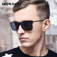 MORAKOT Brand Unisex Retro TR90 Sunglasses Polarized Lens Vintage Eyewear Accessories Sun Glasses For Men And Women P003216