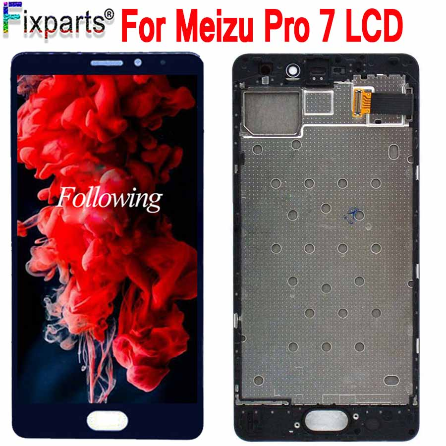 Black 5.2 For Meizu Pro 7 LCD Display Screen+ Touch Panel Digitizer White/Black For Meizu Pro7 LCD Screen Free Shipping+ToolsBlack 5.2 For Meizu Pro 7 LCD Display Screen+ Touch Panel Digitizer White/Black For Meizu Pro7 LCD Screen Free Shipping+Tools