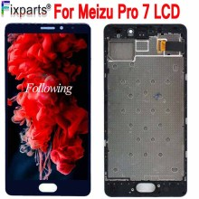 Black 5.2'' For Meizu Pro 7 LCD Display Screen+ Touch Panel Digitizer White/Black For Meizu Pro7 LCD Screen Free Shipping+Tools new tested lcd display matrix for 7 oysters t7x 3g tablet 1024 600 tft lcd screen panel lens frame replacement free shipping