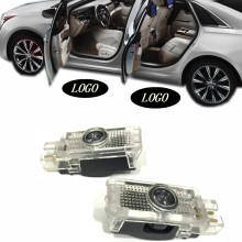 JURUS LED Car Logo Door Light Courtesy Laser Projector Lamp Welcome Light For Mercedes W203 C Class 2001-2007 SLK CLK SLR W209 цена в Москве и Питере