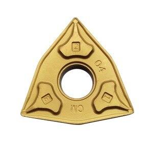 Image 3 - 10 pces wnmg080404 wnmg080408 processamento de aço carboneto insere ferramentas lâmina alto desempenho custo