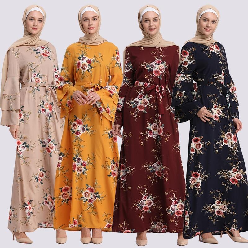 Abaya Dubai Kaftan Islam Turkish Muslim Hijab Dress Qatar Caftan Abayas For Women Robe Islamic Clothing Jilbab Femme Musulmane
