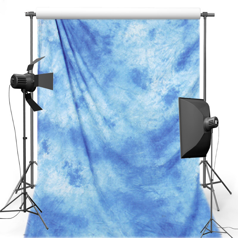 MEHOFOTO Pro Dyed Muslin Backdrops for photo studio Blue old master painting Vintage photography background Customized DM167