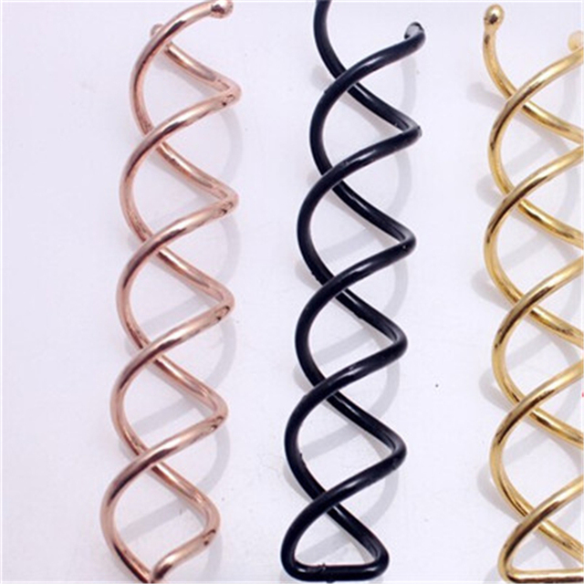 New arrival 10pcs 1 set Spiral Spin Screw Pin Hair Clip Twist Barrette CC1102