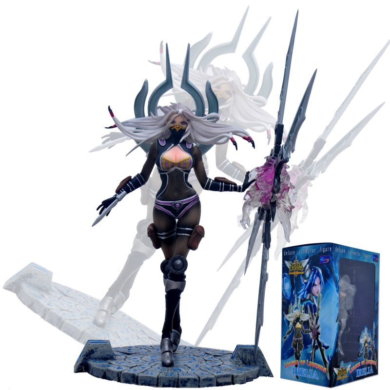 NEW Hot! 23cm The Will of the Blades Irelia action figure toys collection doll Christmas gift with box