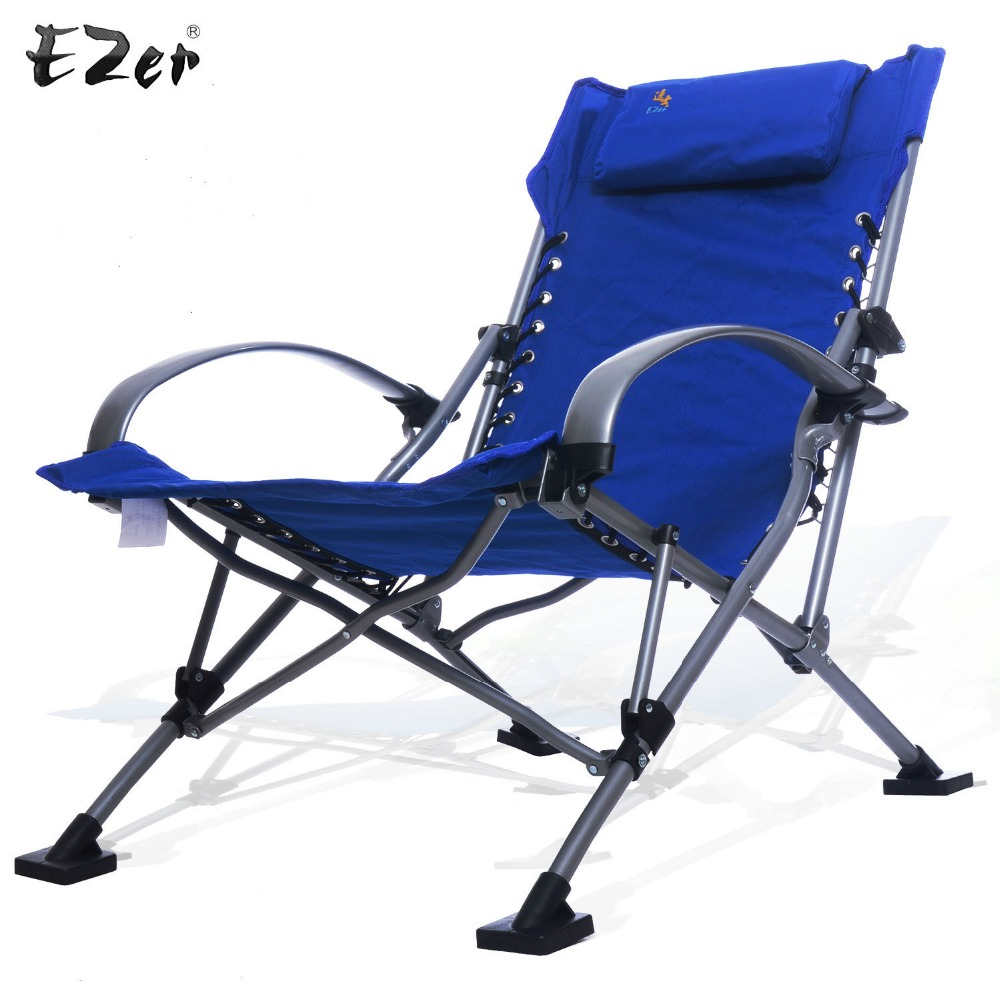 Modern Outdoor Or Indoor Beach Chair With Handrails And Folded Chairs For  Garden,Camping,Beach,Travelling,Office Chairs In Beach Chairs From  Furniture On ...