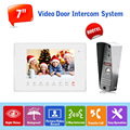 "Hot Sell Russian Language Video Door Monitor Support SD Card Recording 1 to 1  7"" TFT 800TVL Door Monitor Video Intercom Systems"