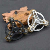 New Gears Fidget Spinner Toys Metal Brass Gear Finger Spinner Metal Hand Spinner Toy EDC Spinning Top Stress Relief For ADHD