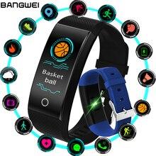 2018 Popular IP68 Waterproof Fitness Tracker Smart Bracelet Sports Pedometer Smart Wristband Blood Pressure Sleep Monitoring