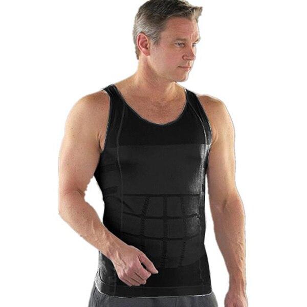 Lose Weight Men's Absorbant Underwear For Men Body Shaper Tight Sauna Slimming Tummy Belly Cincher Waist