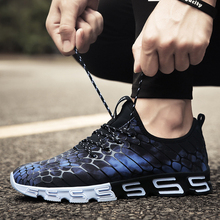 Breathable Men Running Shoes Sneakers Super Cool Bounce Outdoor Sport Professional Training plus size 39-44