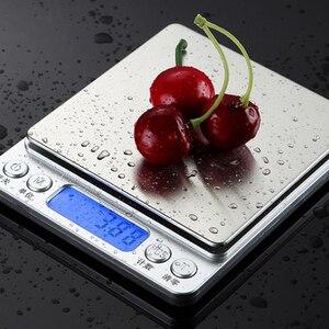 Image 3 - 500G/1/2/3kg 0.01/0.1g LCD Digital Scales MINI Precision กรัมน้ำหนักเครื่องชั่งน้ำหนักอิเล็กทรอนิกส์ BALANCE สำหรับชาเบเกอรี่