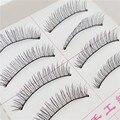 12Pcs 10 pair Profession False Eyelashes  Crisscross Maquiagem Eyelashes Hand Made Full Strip Eye Lashes