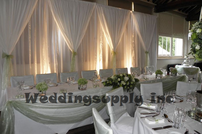 Aliexpress Com Buy Luxury White Wedding Backdrop With