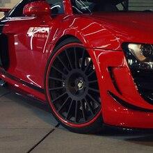 8 м Универсальная автомобильная Ступица колеса Арка протектор отделка обода колеса Защитная крышка клейкий рулон