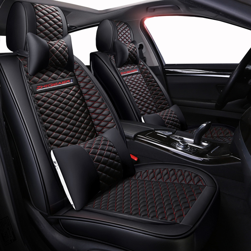 High quality PU Leather car seat covers fit benz mercedes w203 w204 w211 ML300 cars accessories