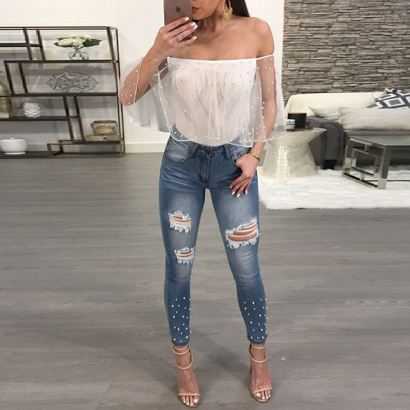 72952f07960 Buy embellish jean and get free shipping on AliExpress.com